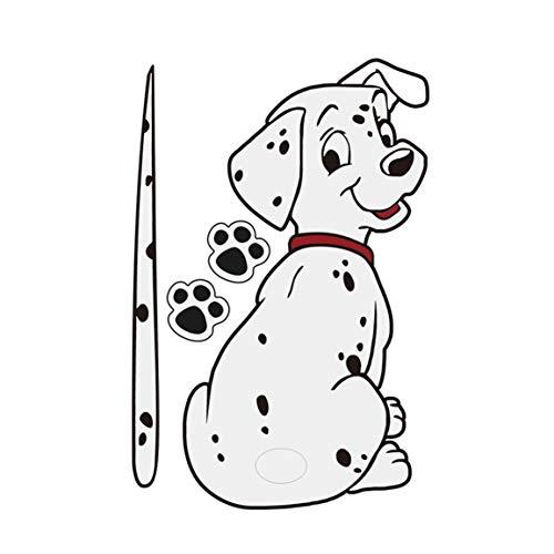 Fantasyworld Karikatur-lustiger Hund Muster-Aufkleber-Auto-Fenster-Wischer-Abziehbilder Heckscheibe Aufkleber-Auto-Styling-Dekoration-Aufklebers (Auto-fenster-aufkleber Hunde)