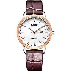 ZFFC-Simple y elegante de ocio de moda señoras reloj reloj reloj eterno clasico diseño,B
