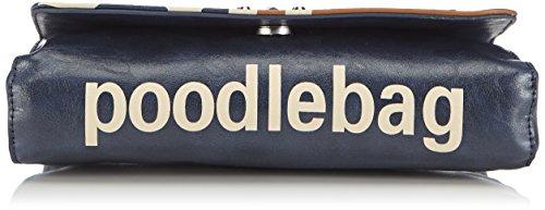 poodlebag - Funkyline-flag-saturday, Stringate Donna Blu (Blu)