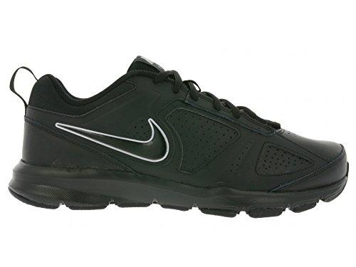 Nike Lite XI, Baskets Basses Homme Noir (Black/Black-Metallic Silver)
