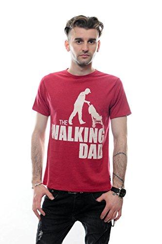 S-Ponder -  T-shirt - Maniche corte  - Uomo Borgogna Large