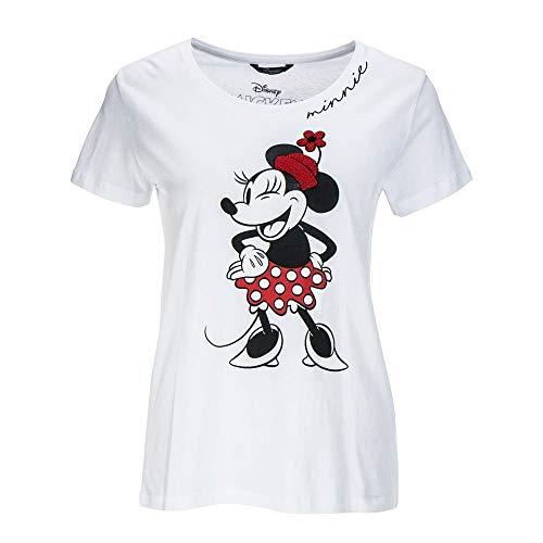 Princess goes Hollywood Damen T- Shirt Disney Minnie (38) (Damen Shirt Minnie Maus)