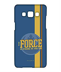 Strong Force Phone Cover for Samsung A5 by Block Print Company