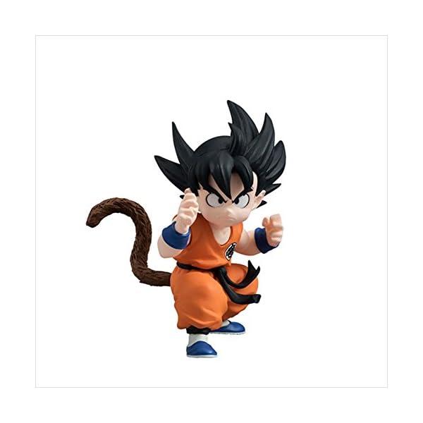 Ban Dai - Figura de Dragon Son Goku de 5.1 x 10.2 x 7.4 cm (34842) 1