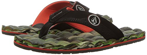 Volcom Chanclas Recliner Big Youth (Niños/Kids) CAMOUFLAGE