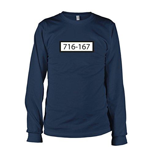 TEXLAB - Sträfling 716 167 - Langarm T-Shirt Dunkelblau