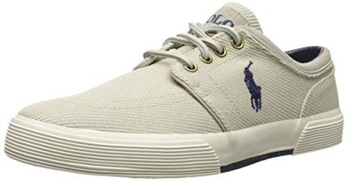 Polo Ralph Lauren Faxon Calvary Twill Fashion Sneaker Classic Stone