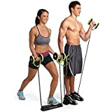 Abs Exercise Equipment Workout Roller Home Gym,Professional Ab Wheel Roller Supports, Abdominal Workout Machine, Ideal Men Women