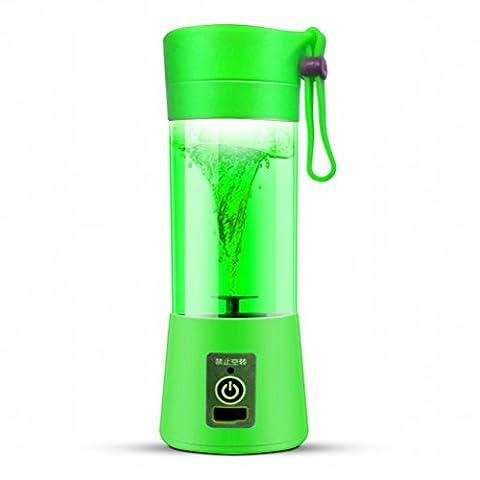 Juicer Electric Saft Cup Aufladung Juicy Cup Portable Mini Haushalt,Grün (Juicy Thong)