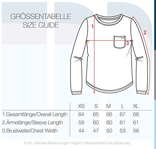 Blend She Christin Damen Sweatshirt Pullover Sweater Mit Rundhalsausschnitt Und Fleece-Innenseite, Größe:XS, Farbe:Mocca Mix (70816) - 5