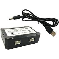 MagiDeal 7.4V 2S USB Cargador para Piezas de Repuesto de Quadcopter RC Syma X8 X8c X8g X8hg X8hw X8hc