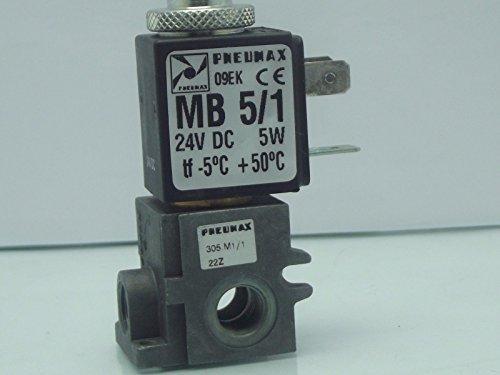 pneumax 1/8BSP klein Normalerweise Open Ventil für Luft und Vakuum, 305.m1/124V DC