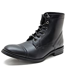 Bond Street By (Red Tape) Mens Black Boots - 10 UK/India (44 EU)