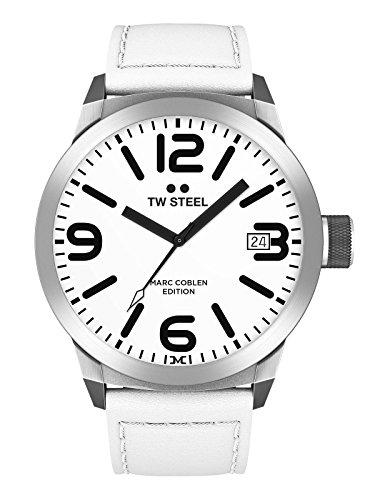 TW Steel Herren Uhr Armbanduhr Marc Coblen Edition TWMC43 Lederband