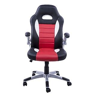 Homcom – Silla oficina ejecutiva deportiva sillón estudio dirección giratoria racing (varios colores y medidas)