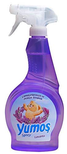 Yumos - Textil- Spray - Camasir ve eviniz icin Sprey - Lavanta - Lavendel Duft (500ml)