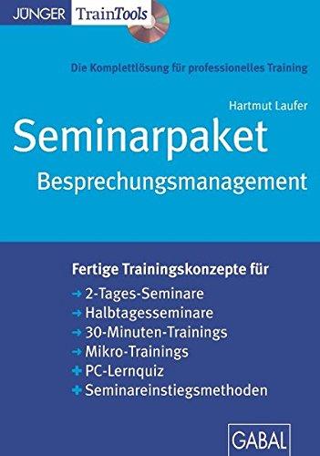 Seminarpaket Besprechungsmanagement (CD-ROM)