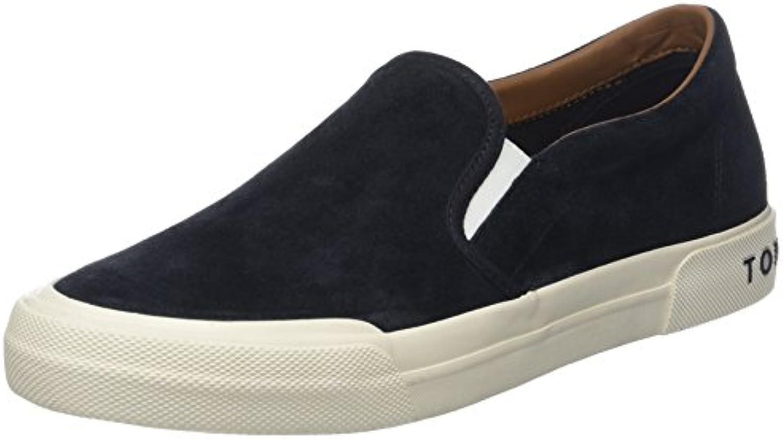 Tommy Hilfiger Heritage Suede Slip On Sneaker, Zapatillas para Hombre -