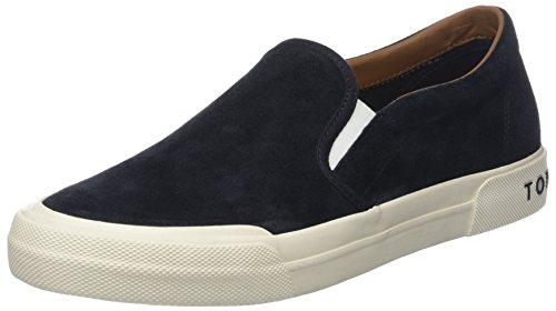 Tommy Hilfiger Herren Heritage Suede Slip On Sneaker Blau (Midnight 403)