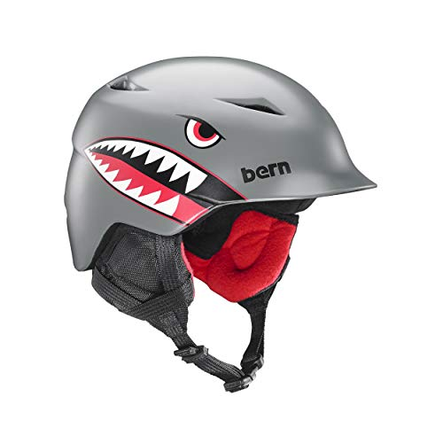 Bern Jungen Camino All Season Helmet-Matte Ermüdung Camouflage, X-Small/Small/51–53 cm S/M Satin Grey Flying Tiger