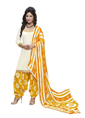 Miraan Unstitched Cotton Patiyala Suit / Dress Material for Women   Party wear   Free Delivery