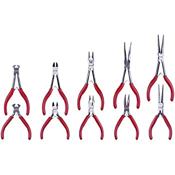 Silver Business, Industry & Science Blue Spot 08185 3Pce Long Reach Plier Set
