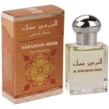 almizcle por al Haramain 15ml Base de aceite Perfume–Misk Attar