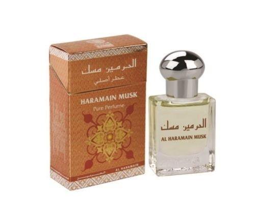 Moschus von Al Haramain 15ml Öl basierend Parfüm–Misk Rosenöl - Moschus Parfüm Duft Öl