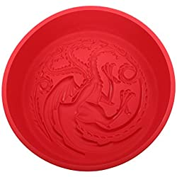 SD Toys Targaryen Game of Thrones Molde Horno, Silicona, Rojo, 29 x 27 x 7 cm