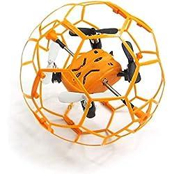Jose9a ® M70Mini RC Drone RTF 2,4GHz 4.5CH Gyro à 6Axes avec Cadre de Protection/Nid d'abeille Speed Switch