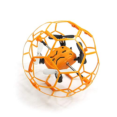 JOSE9A® M70 Mini RC Drohne RTF 2,4 GHz 4,5CH 6-Achsen-Gyro mit Wabenschutzrahmen/Geschwindigkeitsschalter (Rtf-mini-quad)