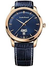 Reloj de Cuarzo Louis Erard Héritage, Azul, PVD, Día/Fecha, 15920PR15