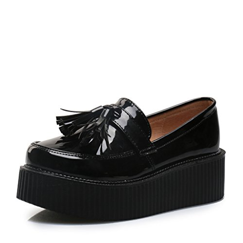 RoseG Women's Fashion Flats Platform Creepers Shoes for sale  Delivered anywhere in UK
