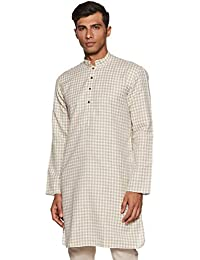 Manyavar Men's Full Sleeve Blended Kurta (ML11816)