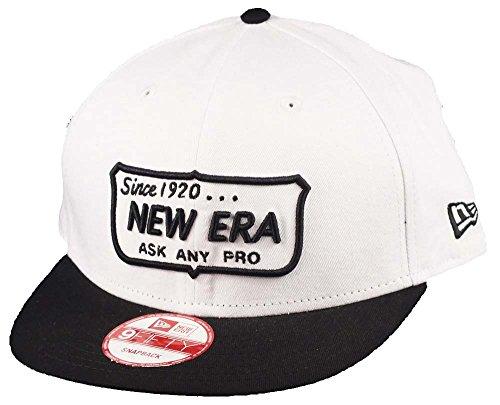 New Era Ask Any Pro Cap White / Black - One-Size