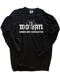 Original Viking-Shirts T-Shirt | Wotan Lenker der Schlachten Wikinger Odin Wodan | 100 % Baumwolle | bequem & hoher Tragekomfort