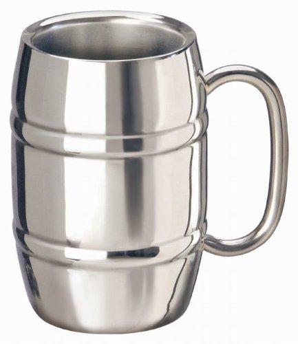 Edelstahlkrug Edelstahl Krug Becher Tasse Thermo Isolierkrug 0,4l