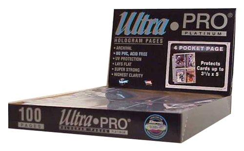 Ultra Pro 150082 - Platinum Pages, 4-Pocket
