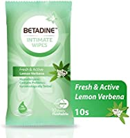 BETADINE FEMININE WIPES FRESH & ACTIVE 10's
