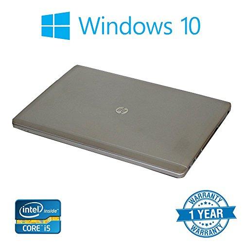 HP Folio 9470M Silver 14    Laptop Intel Core i5-3337U  1 80GHz  8GB RAM  256GB SSD with Windows 10 Pro  36 Months RTB Warranty   Certified Refurbishe