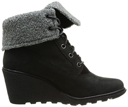 Timberland - Amston Ftw_amston Roll Top, Stivali Donna Nero (Black (nero))