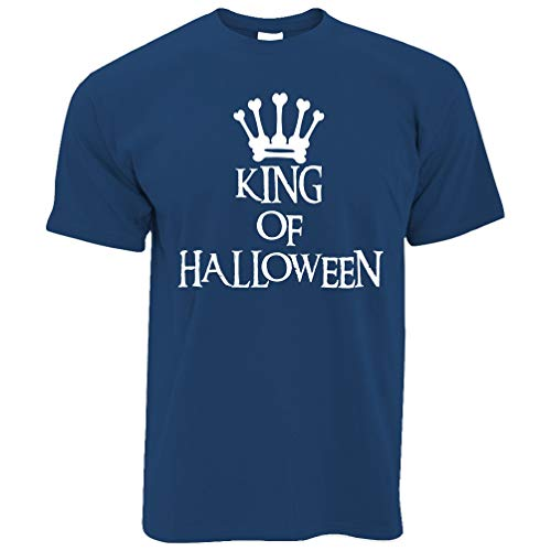 rt King of Halloween Crown Royal Blue Medium ()