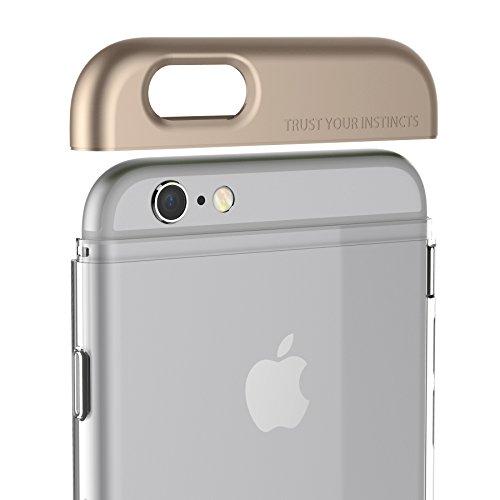 iPhone 6 / 6S Case Plus, araree® [POPS] SF Coating Top Part avec Clear Partie du corps PC Composition Séparé Case Fit Slim pour iPhone 6S Plus, iPhone 6 Case Plus (2015) (GOLD)