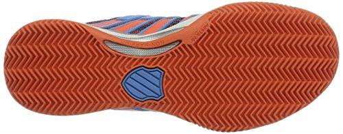 K-Swiss Performance Hypercourt 2.0 Hb, Scarpe da Tennis Donna Multicolore (Bonnie Blue/fusion Coral)