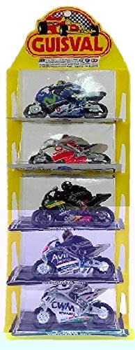 Guisval Set 5-teilig, Motorräder Wettbewerb GP Maßstab 1: 22(faseba 16151) -