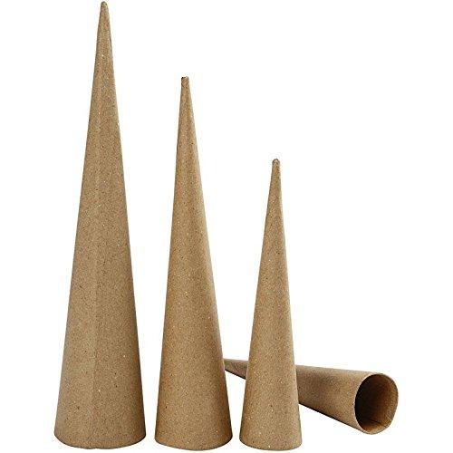 Hohkegel, H: 20-25-30 cm, 3er-Set