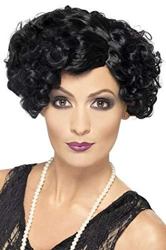 Audrey Hepburn Perücke - Fancy Dress World Damen Perücke, Flapperkleid,