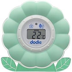 dodie Thermomètre Bain/Chambre 2 en 1