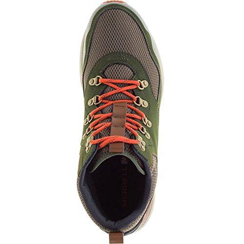 MERRELL in Übergröße - Sneaker STOWE MID - black Rosin