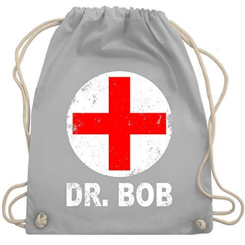 - Dr. Bob Kostüm Kreuz - Unisize - Hellgrau - WM110 - Turnbeutel & Gym Bag ()